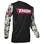 Thor Pulse Jersey Fire Black-Maroon Spring 2020