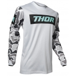 Thor Pulse Air Jersey Fire Light Gray-Black Spring 2020