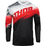 Thor Sector Jersey Vapor Red-Black 2021
