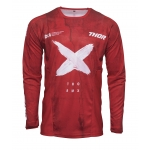 Thor Pulse Jersey Hzrd Red-White Spring 2021
