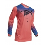 Thor Women's Pulse Jersey Fader Coral Ladies 2020 # SALE