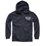 Thor Star Racing Zip-Hoody Chevron Navy Spring 2020