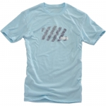 100% T-Shirt Strike Ice Blue