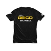 100% Team Geico Honda T-Shirt Standard black # SALE