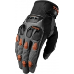 Thor Defend Gloves Charcoal-Dark Orange 2017-2018 # SALE