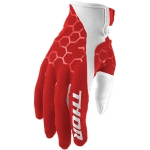Thor Draft Gloves Indi Red-White 2017-2019