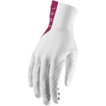 Thor Agile Gloves White-Maroon 2019 # SALE