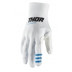 Thor Agile Plus Gloves White 2021