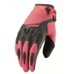 Thor Spectrum Gloves Ladies Charcoal-Coral 2016