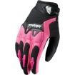 Thor Women's Spectrum Handschuhe Black-Pink Ladies 2017 SALE