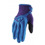 Thor Women's Spectrum Gloves Blue-Purple Ladies 2020 6,5 - S # SALE