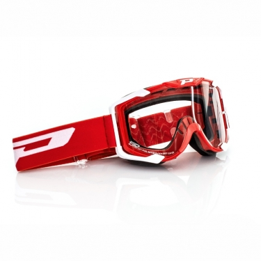 ProGrip Goggle 3400 Mid Line Red