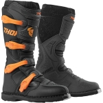 Thor Blitz XP Boots Charcoal-Orange 2019-2020