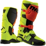 Thor Radial Boots Flo Orange-Flo Yellow 2019-2020