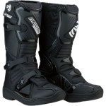 Moose Racing Youth M1.3 MX Boots Black Kids