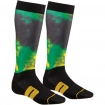 Thor MX Socken Moto Sub Lime-Black 2018