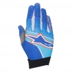 Alpinestars Aviator Handschuhe Blue-Cyan-Red 2017 # SALE