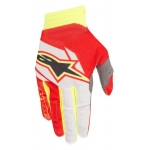Alpinestars Aviator Handschuhe Red-White-Fluo Yellow 2018