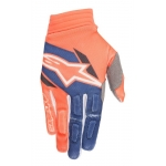 Alpinestars Aviator Handschuhe Fluo Orange-Dark Blue 2018