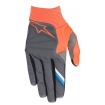 Alpinestars Aviator Handschuhe Anthracite-Orange Fluo 2019