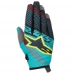 Alpinestars Youth Radar Gloves Tracker Teal-Black-Yellow Fluo Kids 2017