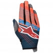 Alpinestars Youth Radar Gloves Tracker Petrol-Aqua-Orange Fluo Kids 2017
