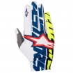 Alpinestars Dune Gloves White-Dark Blue-Yellow Fluo 2017
