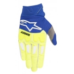 Alpinestars Racefend Handschuhe Fluo Yellow-Blue 2018