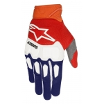 Alpinestars Racefend Handschuhe Dark Blue-Fluo Orange-White 2018