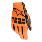 Alpinestars Racefend Gloves Orange Fluo-Black 2020