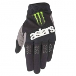 Alpinestars Racefend Handschuhe Raptor Black-Gray-Bright Green 2020 Monster MX Collection # SALE