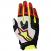 Alpinestars Racefend Gloves White-Red-Yellow Fluo 2017