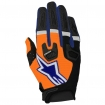 Alpinestars Racefend Gloves Orange Fluo-Dark Blue-White 2017