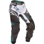 Fly Racing Lite Hydrogen Pants Black-White-Teal 2017 US 30 - D 46 # SALE