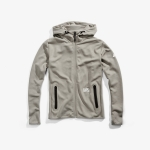 100% Viceroy Zip-Hoody Tech Fleece Warm Grey
