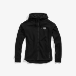 100% Stratosphere Zip-Hoody Tech Fleece Black
