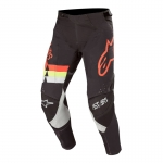 Alpinestars Techstar Pants Venom Black-Red Fluo-Yellow Fluo 2020