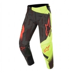 Alpinestars Techstar Pants Factory Black-Yellow Fluo-Red Fluo 2020