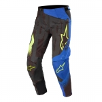 Alpinestars Techstar Pants Factory Black-Dark Blue-Yellow Fluo 2020