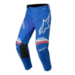 Alpinestars Racer Pants Braap Blue-Off White 2020
