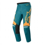 Alpinestars Racer Pants Supermatic Petrol-Orange 2020