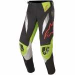 Alpinestars Techstar Pants Factory ET Black-Bright Green-Red 2020 Monster MX Collection