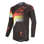 Alpinestars Techstar Jersey Venom Black-Red Fluo-Yellow Fluo 2020