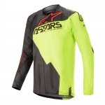 Alpinestars Techstar Jersey Factory Black-Yellow Fluo-Red Fluo 2020
