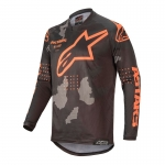 Alpinestars Racer Jersey Tactical Black-Gray Camo-Orange Fluo 2020
