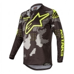 Alpinestars Racer Jersey Tactical Black-Gray Camo-Yellow Fluo 2020