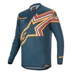 Alpinestars Racer Jersey Braap Navy-Orange 2020