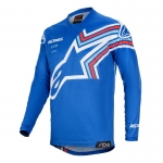Alpinestars Racer Jersey Braap Blue-Off White 2020