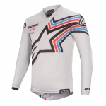 Alpinestars Racer Jersey Braap Light Gray-Black 2020
