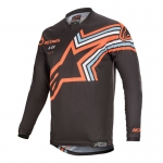 Alpinestars Racer Jersey Braap Dark Gray-Orange Fluo 2020